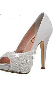 Chaussures de mariage - Blanc - Mariage / Habillé / Soirée & Evénement - Talons / Bout Ouvert / A Plateau - Sandales - Homme