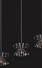 Simple Modern Dandelion Crystal Pendant lamp Patented Product 3