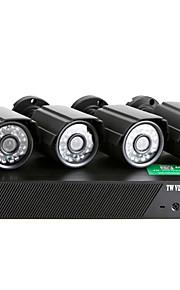AHD-x04ls 600TVL 4-kanals DVR kit 720p 960h