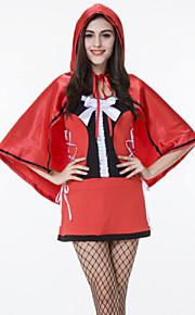Performance Dresses Women's Performance Cotton / Matte Satin Bow(s) 2 Pieces Red
