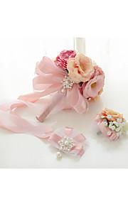 Princess Series  Boutonniere & Wrist Corsages (Set of 2)