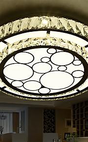 Flush Mount Crystal / LED Modern/Contemporary Living Room / Bedroom / Dining Room Crystal