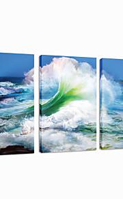 star®sea visuelle mur armure art de la décoration en toile de triptyque impression prêt à accrocher