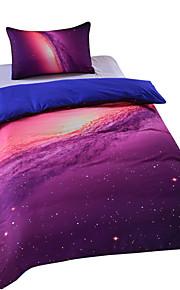 2015 roupa de cama nova galáxia barato único conjunto moderno de alta qualidade macio completo rainha do rei gêmeo