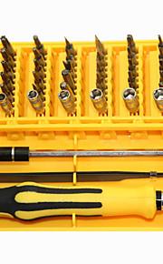 45 en 1 kit de réparation de l'outil d'ouverture tournevis de précision portables démontage ensemble
