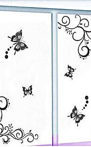벽 스티커 벽 데칼 스타일의 새로운 꽃 포도 나무 PVC 벽 스티커