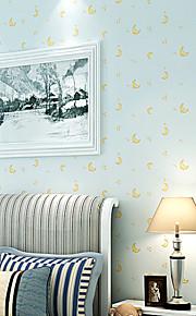 contemporaine papier peint art déco murale 3D belle de papier peint de lune couvrant l'art non-tissé mur de tissu
