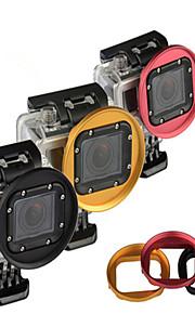 Kingma alliage d'aluminium UV 58mm cpl ème filtre de lentille anneau adaptateur pour GoPro Hero 3