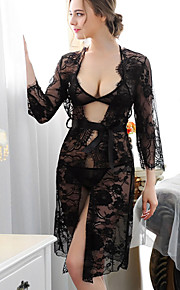 Women Sexy Lace Lingerie / Suits Nightwear , Nylon / Polyester