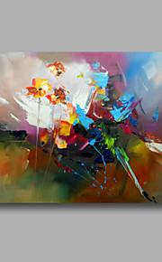 延伸手描きの抽象的な現代の油絵のキャンバス壁アートホームデコ1つのパネルを手する準備ができて