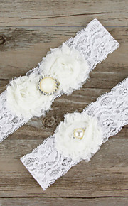 Bowknot Bride Garter Wedding Decoration