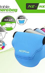 fashionable neopine neopren blød trekant kamerataske taske til Samsung NX3000 kamera 20-50mm linse