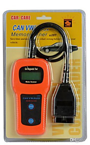 memoscan U281 automotive CAN-bus obdii obd2 zelf een diagnose code lezer scanner tool