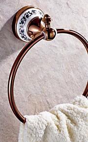 Pyyheripustin , Uusklassinen Ruusukullattu Seinäasennus