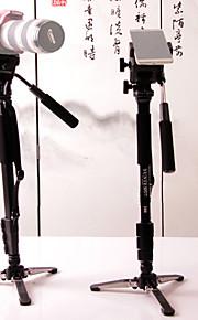 Yunteng 288 professionel fotografering monopod stativ med mobiltelefon klip til universel smartphone og digitalkamera