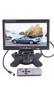 """dearroad 7 """"kleuren TFT LCD auto achteruitkijkspiegel monitor 12-24v voor DVD camera videorecorder"""