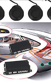 """""""Нажмите, чтобы увеличить imagedetails о автомобиля светодиодный дисплей парковка обратного резервного копирования радар ж / 4 датчика"""""""