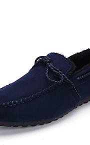 Men's Shoes Casual Boat Shoes Black / Blue
