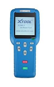 herramienta original del reajuste del aceite x200 XTOOL mano profesional resetter de mantenimiento de automóviles
