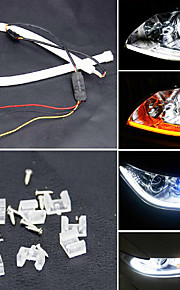 Yobo 6w 450-550lm 60mm kørelys hvid / gul / blå / rød farve høj effekt bil LED lys lampe (DC12V / 2stk)