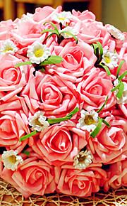 Buketter-Rund-Roser(Rosa / Rød / Champagne