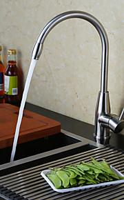 kjøkkenkran moderne pre skylle rustfritt stål børstet