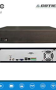 cotier®25ch 2u 9hdd poort / 960P / ONVIF / p2p cloud / NVR N25 / 2u-9