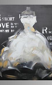 Wedding Dress Wall Art Canvas Print Ready To Hang 80*80cm