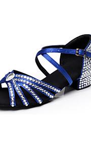Zapatos de baile ( Negro / Azul / Marrón / Rojo ) - Danza latina / Dance Sneakers / Moderno / Salsa / Flamenco / Samba - Personalizados -