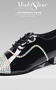 Zapatos de baile ( Negro ) - Danza latina / Jazz / Dance Sneakers / Moderno / Flamenco - Personalizados - Tacón bajo