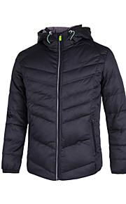 GRN® Men's Regular Down Coat , Cotton / Polyester Long Sleeve