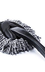 polvo de la suciedad del coche de limpieza plumero polvo cepillo limpio herramienta fregona gris