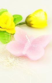Bougies ( Rose ) Thème de plage / Thème asiatique / Thème de papillon / Thème classique / Fête prénatale - Résine