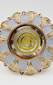 5W 500lm COB European LED Ceiling Light Downlight Spotlight Lamp Resin + Aluminum