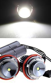 2 * h8 10w ha condotto la luce bianca cree occhio di angelo per BMW E39 E53 e65 e66 e60 e61 e63