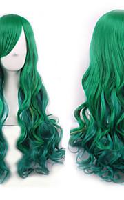 cos peruukki vihreä kaltevuus japani alkuperäinen sufeng tukka peruukki