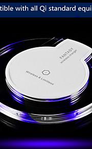 cristal de carga inalámbrica / ufo inalámbrica de carga compatible con todo el equipo estándar qi