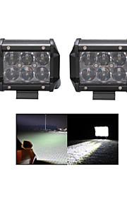 2x 30W LED Work Light Bar Offroad 12V/24V ATV Spot Offroad for Truck 4x4 UTV