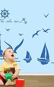 Tegneserie / Mote / Landskap / fantasi Wall Stickers Fly vægklistermærker , Vinyl stickers 56*47cm