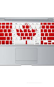 Canadese vlag ontwerp siliconen toetsenbord cover skin voor MacBook Air 13,3, MacBook Pro met Retina 13 15 17 ons lay-out