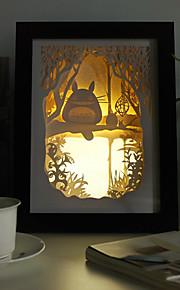 Lampes de bureau - Moderne/Contemporain / Traditionnel/Classique / Rustique/Campagnard / Nouveauté - Bois/bambou - LED