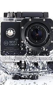 SJ7000 Sportskamera/GoPro Style-kamera 2 CMOS Engelsk 30 M Vandtæt / Praktisk / Trådløs / Støv-sikker Dykning / Cykel