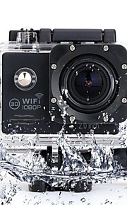 SJ7000 Sportskamera 2 1024 x 768 / 1280x960 CMOS Engelsk 30 M Praktisk / Trådløs / Støv-sikker / Vandtæt Dykning / Cykel