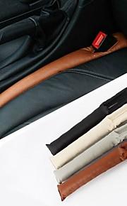 tapón de la ranura de seguridad del vehículo de cuero de la PU ziqiao a prueba de fugas estuche protector (2pcs)