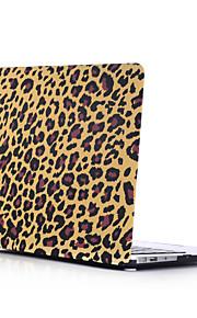 MacBookのための暗いヒョウ柄スタイルPC材料の水スティックフラットシェル