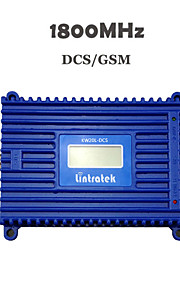 Lintratek® LCD Display GSM 1800MHz Boosters 4G LTE 1800MHz Cell Phones Signal Repeater