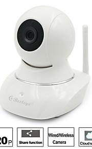 besteye®hd720p trådløs wifi ip kamera sikkerhed overvågning andel rekord 1.0mp nattesyn cloud storage wifi kamera