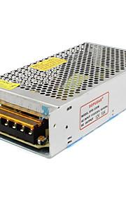 SPD-120 W 12v10a CCTV tilbehør kamera systemets strømforsyning transformer metal - sølv (110-220V AC)