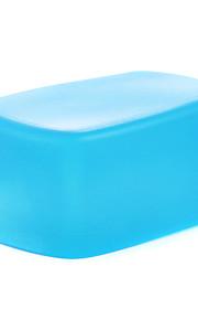 ny a3 silicium fleksibel flash bounce diffuser softbox hvid + gul + blå til Nikon sb900 / sb910 mk-910