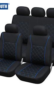 autoyouth azul línea de ajuste universal funda de asiento de coche más cubiertas de automóviles accesorios interiores de color negro
